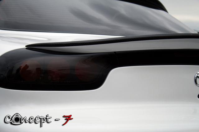 Duck Tail Spoiler Mazda FD RX7 - Concept-7