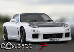 Headlight Kit (Dual 90mm Hella) Mazda FD RX7