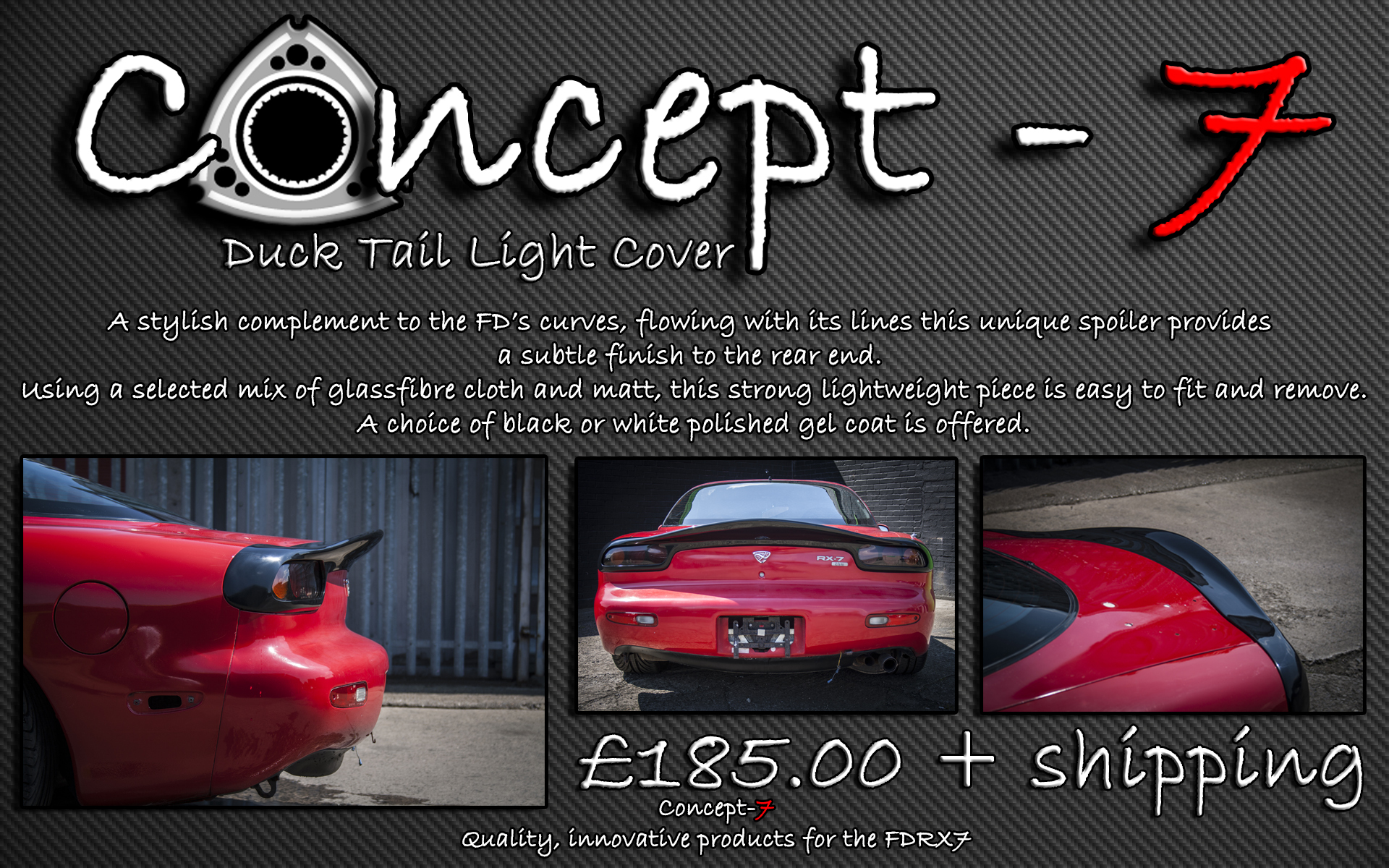 Duck Tail Light Cover - Concept-7